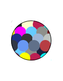 Boxer Estampado con Lunares (505) Colores Surtidos