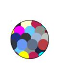 Boxer Liso con Elástico Combinado (594) Colores Surtidos